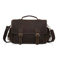 (212.00$)  Buy here - http://aiuup.worlditems.win/all/product.php?id=32799960069 - Fashion Designer Brand Messenger Shoulder Bag Handmade Vintage Laptop Briefcase Crazy Horse Leather Crossbody Tote Bag 8012