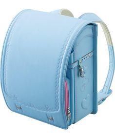 New Japanese Randoseru Backpack Pastel Blue Light Sky Clarino Kawaii Japan | eBay