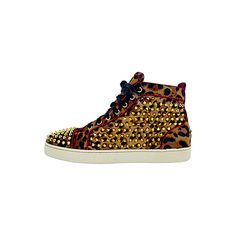 Christian Louboutin - Sneakers | Lofter by Sur la terre found on Polyvore