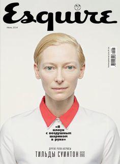 Tilda Swinton by Peter Hapak for Esquire Ukraine, June 2014