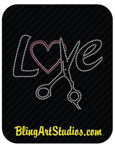 total 9 pieces 3 sets of peace love paw rhinestone iron on transfer bling DIY
