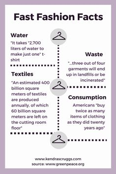Fast Fashion: The Facts – fashion quotes Sustainable Clothing, Sustainable Living, Sustainable Fashion, Sustainable Textiles, Sustainable Design, Eco Friendly Fashion, Eco Friendly House, Cl Fashion, Fashion Brands