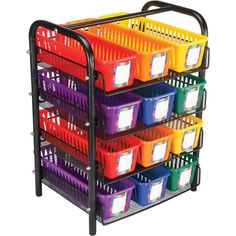 Wire Organizing Station For Classroom Supplies