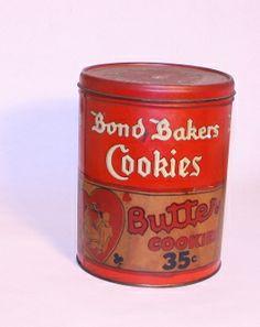 Bond Bakers Cookies Tin - Junk Drunk Jones