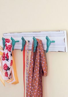 Rustic Roost Wall Hooks, #ModCloth bethanys room clearance knobs hobby lobby