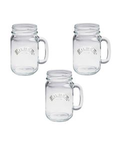 Take a look at this Kilner: Set of Three Clear Handled Jars | 0.5L by Kilner on #zulily today!