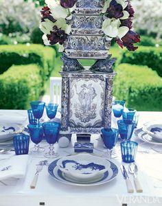 Gorgeous Outdoor Tablescapes - Outdoor Table Ideas - Veranda#slide-12