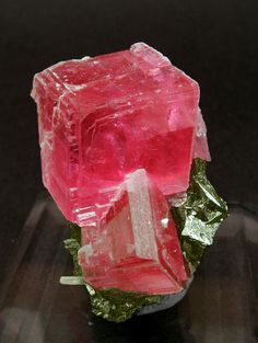 Rhodochrosite with Tetrahedrite and Quartz.  Follow Renaissance Fine Jewelry or see us at www.vermontjewel.com