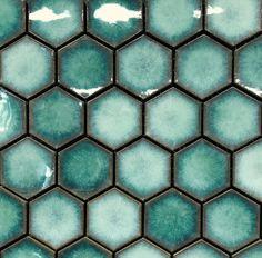 Bathroom decor for your bathroom remodel. Discover bathroom organization, bathroom decor ideas, bathroom tile ideas, bathroom paint colors, and more. Blue Tiles, Tile Patterns, Tile Design, Small Bathroom, Master Bathroom, Blue Tile Bathrooms, Master Master, Bathroom Mirrors, Remodel Bathroom