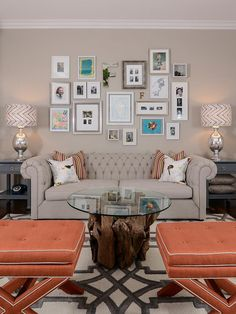 Transitional Living-rooms from Kerrie Kelly on HGTV