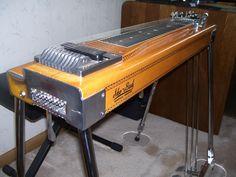 My personal vintage 1973 Sho-Bud S-10 Pedal Steel Guitar