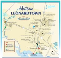 WHAT leonardtown is on the map Loves Pinterest Maryland