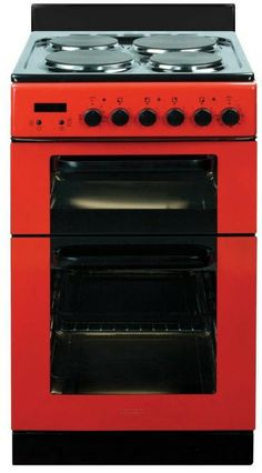 Bring a touch of colour to your kitchen with red appliances like this Baumatic Twin Cavity Electric Cooker from Masters Red Appliances, Electrical Appliances, Electric Cooker, Cooking Pumpkin, Fun Cooking, How To Cook Pasta, Food Preparation, No Cook Meals, Food Hacks