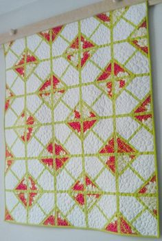 """""""Intersections"""" Paper Peiced Quilt (sizes crib-king) pattern $9.00 on Craftsy at http://www.craftsy.com/pattern/quilting/home-decor/intersections-paper-pieced-quilt-/44664"""