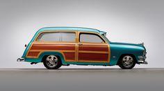 Ford Custom Station Wagon - 'The WOODN8R' 1950