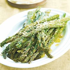 Roasted Asparagus with Parmigiano-Reggiano