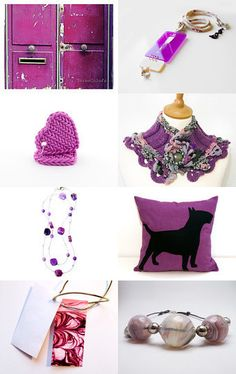 Fall 2014 colors : radiant orchid by Gaia Salatino Ghirardi on Etsy--Pinned with TreasuryPin.com