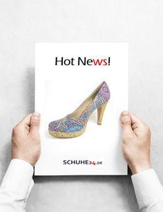 Hot News...all day!  SCHUHE24.de  #neu #new #schuhe #shoes #pumps #woman #shopping #fashion #werbung #advertising #schuhe24  https://www.schuhe24.de/damen/pumps/