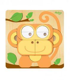 Monkey shape puzzle by P'kolino