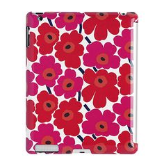 As if you weren't already glued to your iPad enough! Marimekko Unikko Red/White iPad Cover - $78