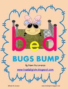 Bed Bugs BUMP {b-d Reversal BUMP Game} - TeachingResourceResort - TeachersPayTeachers.com