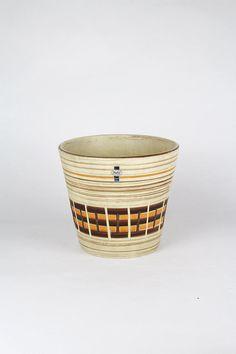 großer Pflanzenübertopf, Jasba vintage Blumentopf, Übertopf west german pottery, Keramiktopf, flower pot, 60er Jahre