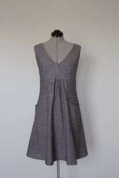 https://flic.kr/p/bpTg6b | Butterick 5639 | Butterick 5639 in grey linen