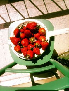 Strawberries... flavour of spring!