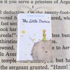 Miniature Classic Novels Book Necklace Charm The Little Prince on Etsy, $10.00