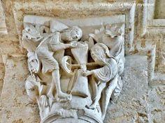 santa maria magdalena de vezelay capiteles el mollino mistico - Buscar con Google