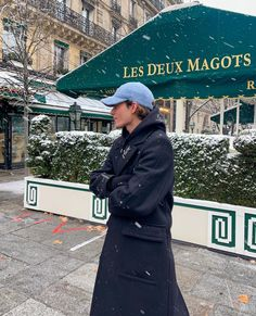 """Nathan Graff 🌞 on Instagram: """"About yesterday ❄️"""" Les Deux Magots, Selfish, Winter Wardrobe, Paris, Board, Inspiration, Outfits, Instagram, Capsule Wardrobe Winter"""