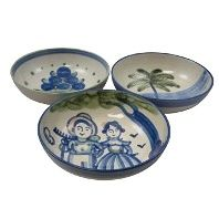 Hadley Pottery Serving Bowls in many different sizes and patterns.