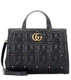 a5f06e9a286 GUCCI Gg Marmont Matelassé Leather Tote.  gucci  bags  shoulder bags  hand