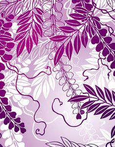「藤の花 イラスト」の画像検索結果