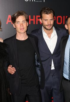 Jamie Dornan and Cillian Murphy at NY Anthropoid Premiere - 4th Aug 2016