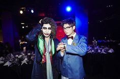 Changmin, Minho at SM Halloween Party 2014