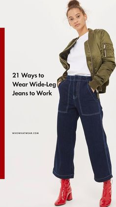 How to wear wide-leg