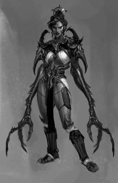 Megaera Early Concept from God of War: Ascension