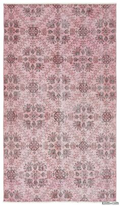 K0013638 Over-dyed Turkish Vintage Rug | Kilim Rugs, Overdyed Vintage Rugs, Hand-made Turkish Rugs, Patchwork Carpets by Kilim.com