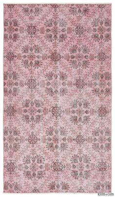 K0013638 Over-dyed Turkish Vintage Rug | Kilim Rugs, Overdyed Vintage Rugs, Hand-made Turkish Rugs, Patchwork Carpets by Kilim.com