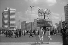 Berlin Alexanderplatz, Germany 1970's DDR / GDR  #ddrmuseum