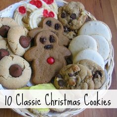 10 Classic Christmas Cookie Recipes