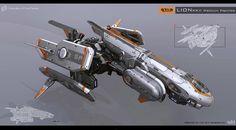 spaceship concept art - Google Search