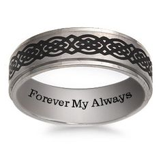The hunt for the perfect men s wedding band is over   he ll love this  stainless steel band decorated in black and gray camouflage    Pinterest    The o jays   The hunt for the perfect men s wedding band is over   he ll love  . Kay Jewelers Mens Wedding Bands. Home Design Ideas