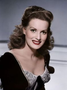 Maureen O'Hara-One of the last great ones left...My friends Rod & Darlene met her 2 years ago.  What a privilege.  BETH