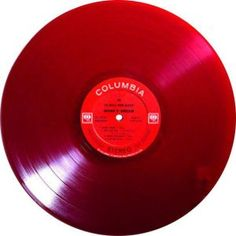A rather rare record indeed is Columbia CS-8765, MONK'S DREAM, on translucent red vinyl from 1963.