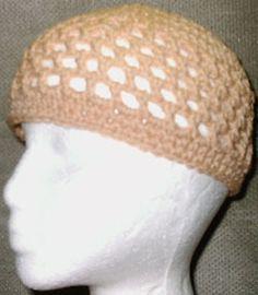Crocheted Kufi Hat Pattern