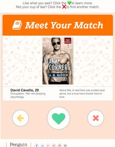 Tinder Inspired Interactive Email: Interview With Penguin Random House