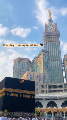 One Day In sha Allah to Baitullah Islamic Wallpaper Iphone, Quran Wallpaper, Mecca Wallpaper, Islamic Quotes Wallpaper, Scenery Wallpaper, Screen Wallpaper, Galaxy Wallpaper, Muslim Images, Islamic Images