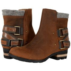 bdecc4f7390453 SOREL Lolla (Nutmeg) Women s Waterproof Boots ( 190) ❤ liked on Polyvore  featuring